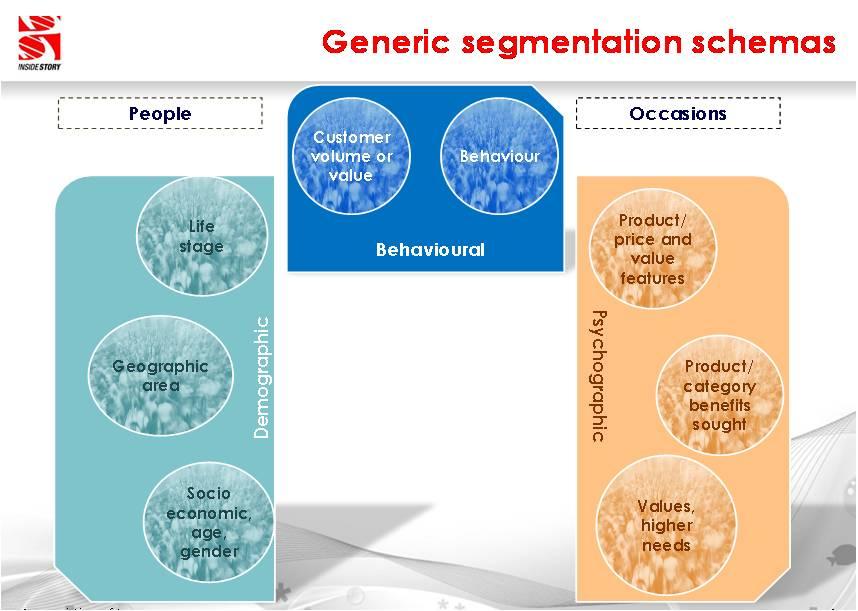 Segmentation Schemas